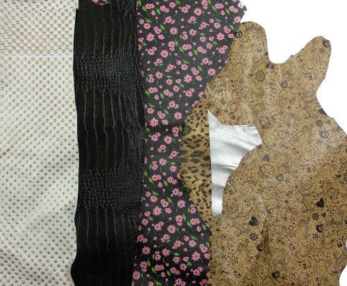 italian fashion leather hides