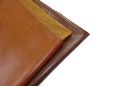 Italian aniline leather