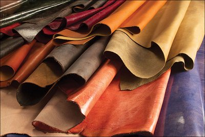 cowhide leather hides